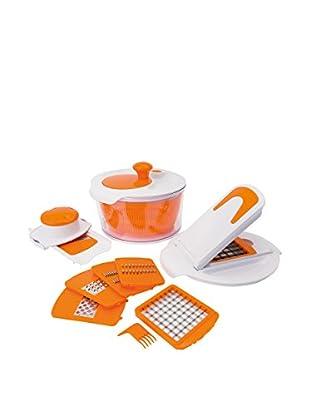 Molecuisine Kit de Cocina Blanco/Naranja