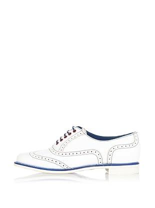 George Webb Zapatos Freya (Blanco / Azul)