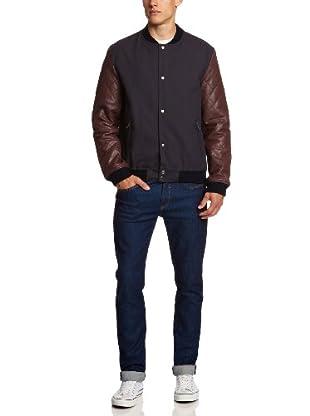 Selected Homme Jeans Cazadora Piel