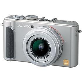Panasonic デジタルカメラ LUMIX (ルミックス) LX3 シルバー DMC-LX3-S 松下電器産業