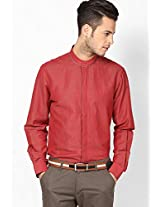 Red Casual Shirt (Trim Fit) John Players