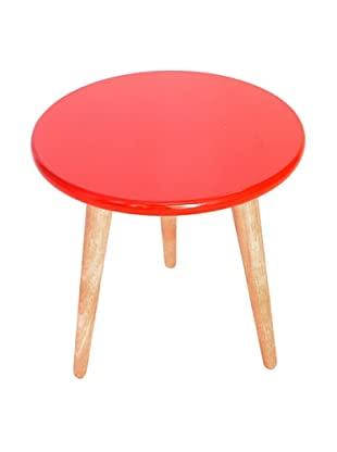 Lacquer Stools, Red