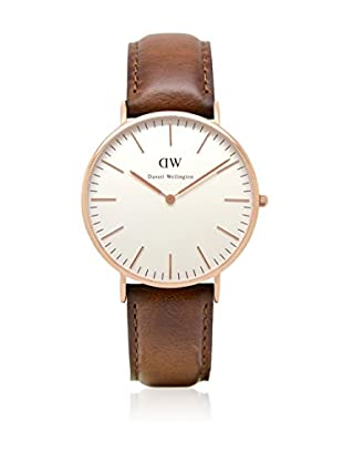 Daniel Wellington Reloj con movimiento Miyota Man DW00100006 41 mm