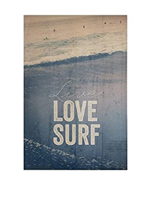 Really Nice Things Holztafel Live Love Surf