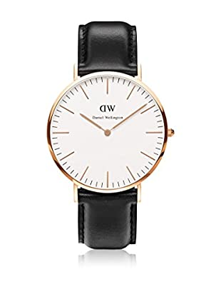 Daniel Wellington Reloj con movimiento cuarzo japonés Man Classic Sheffield 40 mm