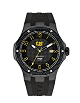 CAT Carbon Silicone Band Men's Watch