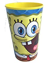 SpongeBob SquarePants Party Favor Drinking Cup 22oz Game Day Sports Licensed Character Cup