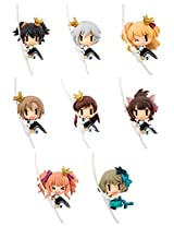 Cord Mascot The Idolm@Ster Cinderella Girls 2nd Stage Model Figure 8 Pack Box Table Desk Decor Idolmaster Miria Anastasia Rika Riina Minami Nitta Miku Maekawa Kirari Moroboshi Kaede Takakagi Mega House