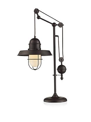 Artistic Lighting Farmhouse Table Lamp, Oiled Bronze