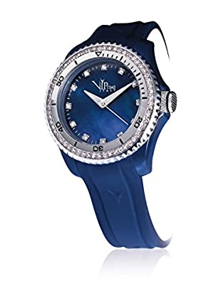 Vip Time Italy Uhr mit Japanischem Quarzuhrwerk Magnum blau 50.00  mm