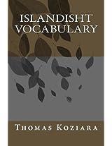 Islandisht Vocabulary