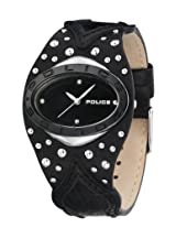 Police Analog Black Dial Women's Watch - PL11600MST/02