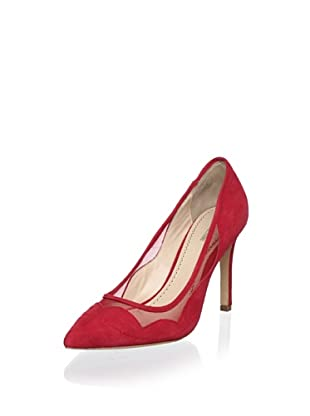 Pour La Victoire Women's Chantel Pump (Red Suede)