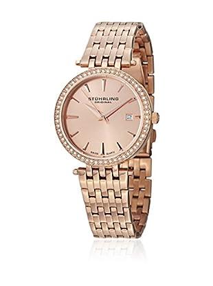 Stührling Original Uhr mit schweizer Quarzuhrwerk 579.04 goldfarben/rosé