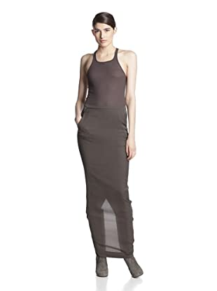 Rick Owens Women's Pillar Skirt (Dark Dust)