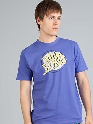 Billabong Camiseta Personalizada (Violeta)