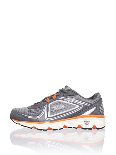 Fila Kid's Sport Spectrum Sneaker (Little Kid/Big Kid) (Monument/Castlerock/Vibrant Orange)