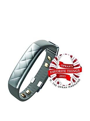 Jawbone UP3 Fitness Tracker, Silver Cross