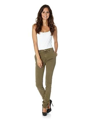 Nudie Jeans Co Hose Khaki Tight Deep Soil (Grün)