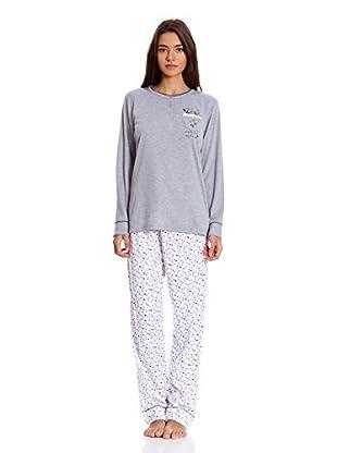 Tress Pijama Señora (Gris)