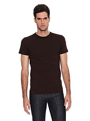 Six Valves Camiseta Manga Corta (Marrón)