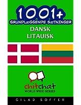 1001+ grundlæggende sætninger dansk - litauisk