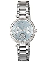 Titan Purple Collection Silver Dial Womens Analog Watch- 95023SM01J