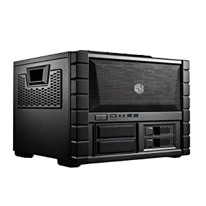 Cooler Master HAF XB EVO (HAF XB Rev. 2) - High Air Flow Cube Style ATX Computer Case with Removable Drive Cages and Dual 120mm XtraFlo Fans