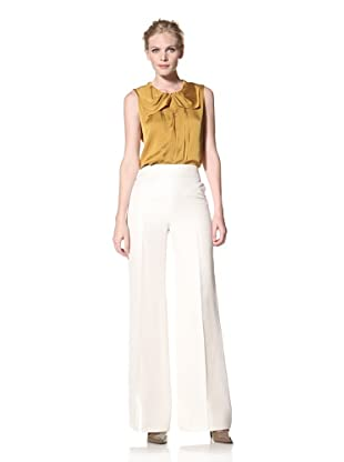 GIAMBATTISTA VALLI Women's Wide Leg Pant (White)