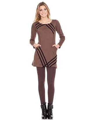 HHG Vestido Fanny (marrón)