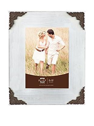 Prinz Lillie Corner White Wood Frame