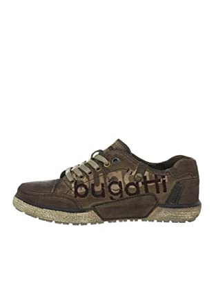 Bugatti Zapatillas Casual (Chocolate)