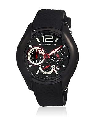 Morphic Reloj con movimiento cuarzo japonés Mph0307 Negro 46  mm