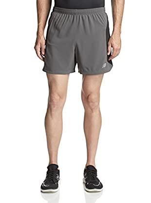 New Balance Men's 5-Inch Impact 2-in-1 Utility Run Shorts (Magnet)