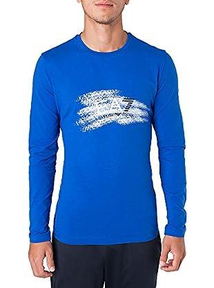 Emporio Armani 7 Camiseta Festos (Azul)