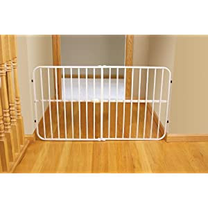Regalo Guardian Expandable Gate, White (Discontinued by Manufacturer)