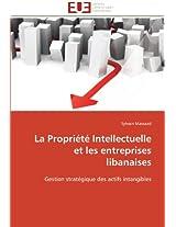 La Propriete Intellectuelle Et Les Entreprises Libanaises