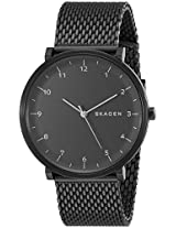 Skagen Hald Analog Black Dial Men's Watch - SKW6171