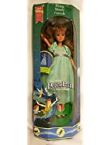 New Peter Pan Flying Wendy Doll Disney Mattel 1993 Tinker Bell Collectible
