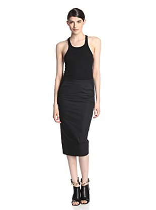 Rick Owens Women's Pillar Skirt (Black)