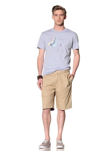 Riviera Club Men's Golf Cal Tee (Light Blue)