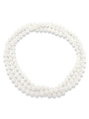 Valero Pearls 340200 - Collar de mujer de plata con perla cultivada de agua dulce, 90 cm