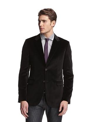 Calvin Klein Collection Men's Bowery Velvet Dinner Jacket (Onyx)