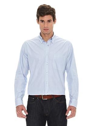 Turrau Camisa Mini Raya Bicolor (Azul)