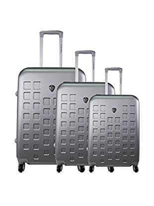 zifel Set de 3 trolleys rígidos 4