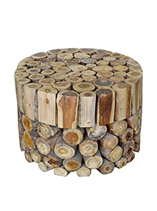 Jeffan Coffee Table Round Block, Natural