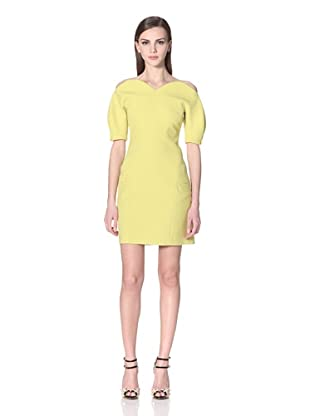 Versus Women's Short Sleeve Dress (Citron)