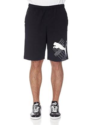 Puma Hose Sweat Logo (Black)