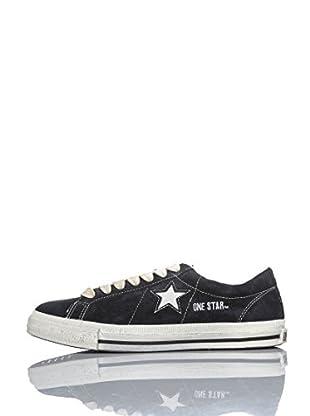 Converse Zapatillas One Star Ox Suede Kurt Cobain Edition (Negro / Blanco)