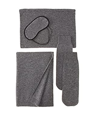 Sofia Cashmere Portofino Travel Set, Charcoal